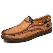 Wholesales shoe moccasin High Quality moccasin men Driving shoes Slip On loafer shoes for men