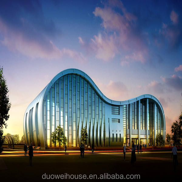 China duowei steel structure hotel