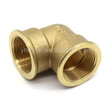 G 3/4 90 degree female elbow brass fittings