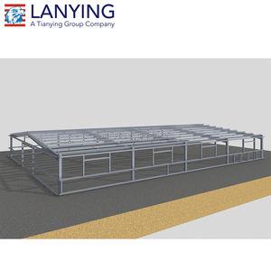 Tetto in acciaio costruzione costruzione di strutture capannone