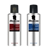 Private label hair gel strong hold  hair cream styling alcohol free hair spray