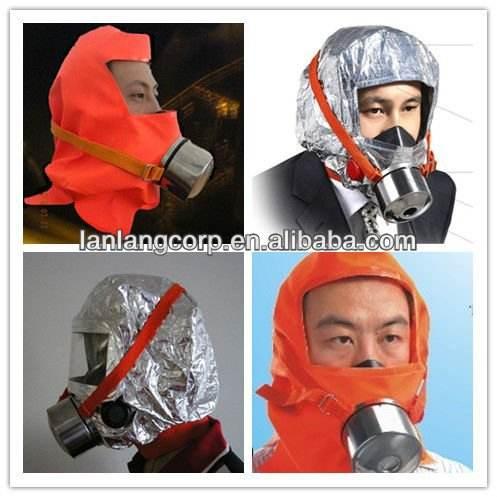 высокое качество портативного пожарная лестница маска/поёара дым маски/клобук пожара