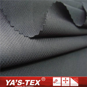 China supplier 100% polyester fabric 50D Rome spandex fabric