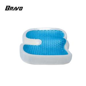 Wholesale comfort memory foam orthopedic cooling gel pillow coccyx support gel seat cushion