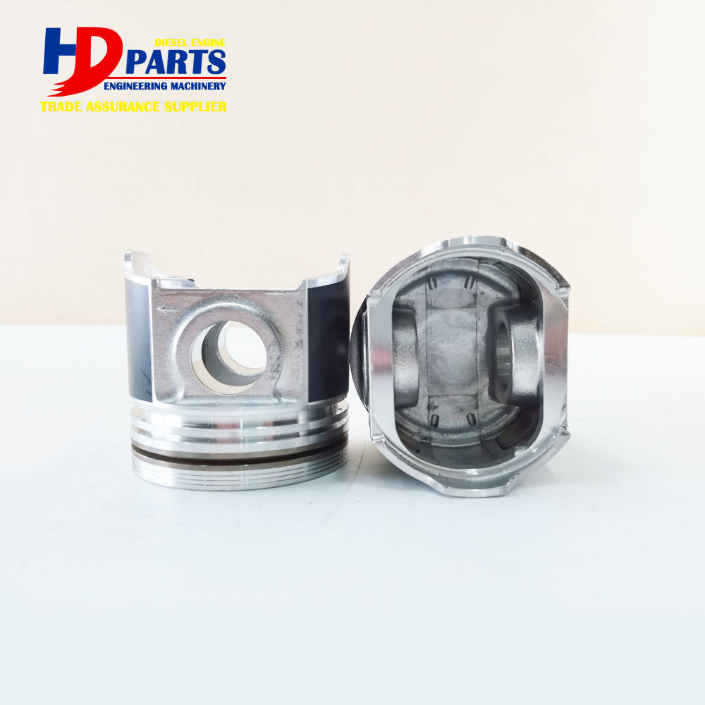 Diesel Engine Part Piston D1503 Piston With Pin With Round Bottom