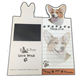 wholesale cheap fridge magnet note pad sticky memo pad with printing