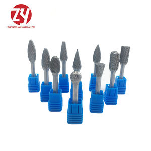 New CNC Tool Grinders Accessories Tungsten Carbide Cutter Rotary File Woodworking Milling Cutter Polishing Head