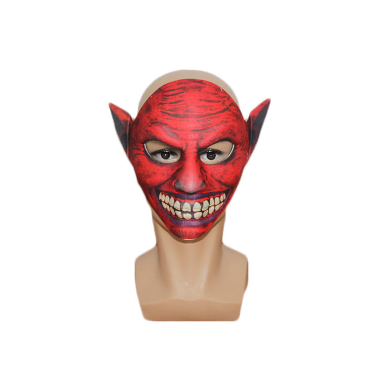 Evil super sex bruin vip dans Masker Halloween Party Kostuum Led Masker
