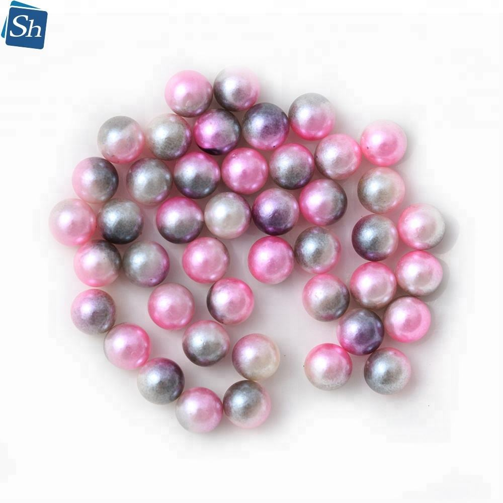 round white no hole loose abs pearl aaa grade yiwu beads