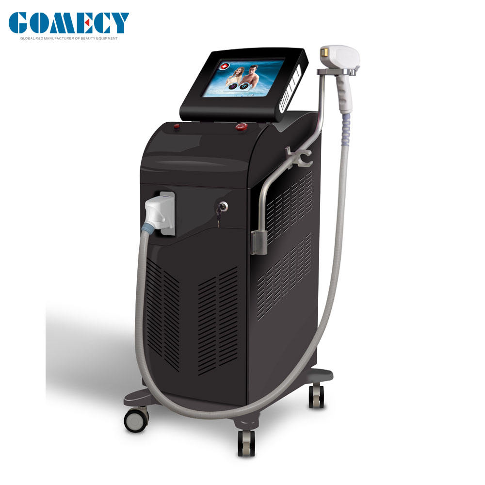 2019 Alma Soprano ICE Platinum 12 bars Diode Laser Soprano Hair Removal Machine 755 808 1064nm triple wave Alma Soprano
