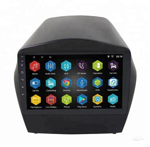 Car multimedia dvd player per hyundai iX35 tucson 2010-2015 android audio stereo di gps di navigazione
