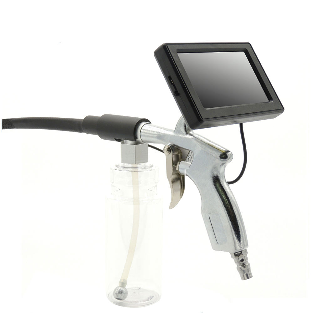 handle visual spray- Gun borescope for cleaning car air condition evaporator