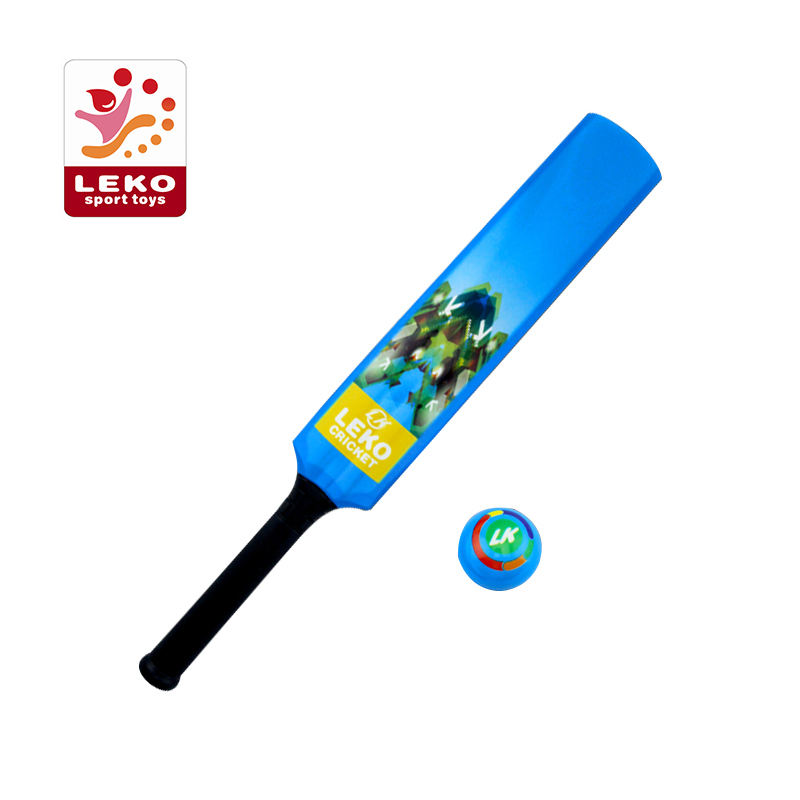 Promotional PU foam soft cricket set cricket bat and ball for Children avoid injury