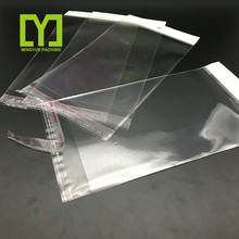 High Quality Custom Printed Clear Opp Self Adhesive Bag with Header Sealing Plastic Packing OPP Poly Bag