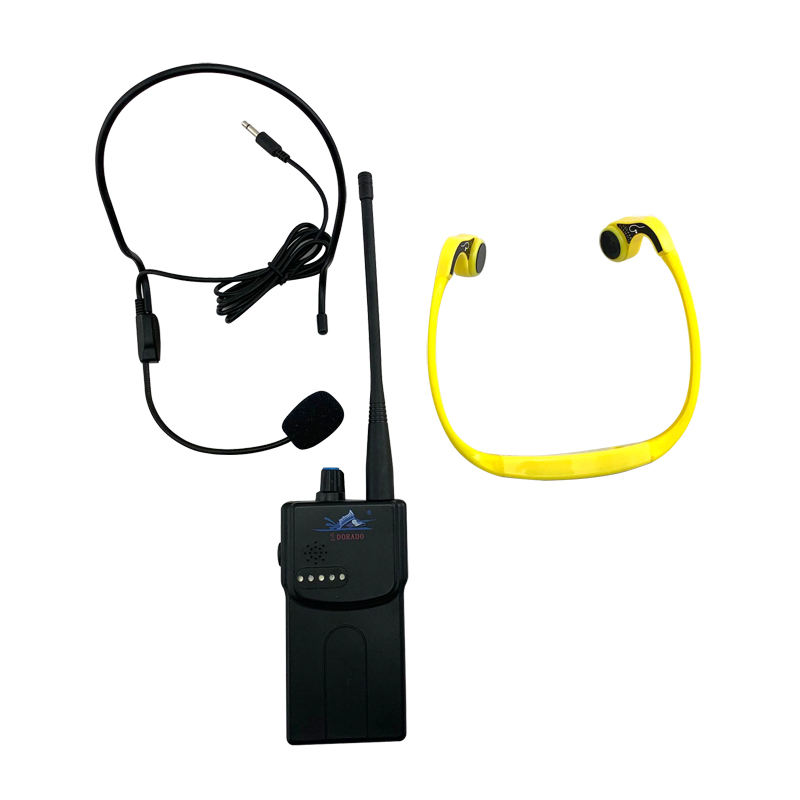 Swimming training Waster Sports Training wireles Wireless Bone Conduction Earphones Transmitter Receiver
