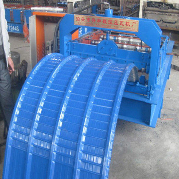 curving roofing sheet roll forming machine