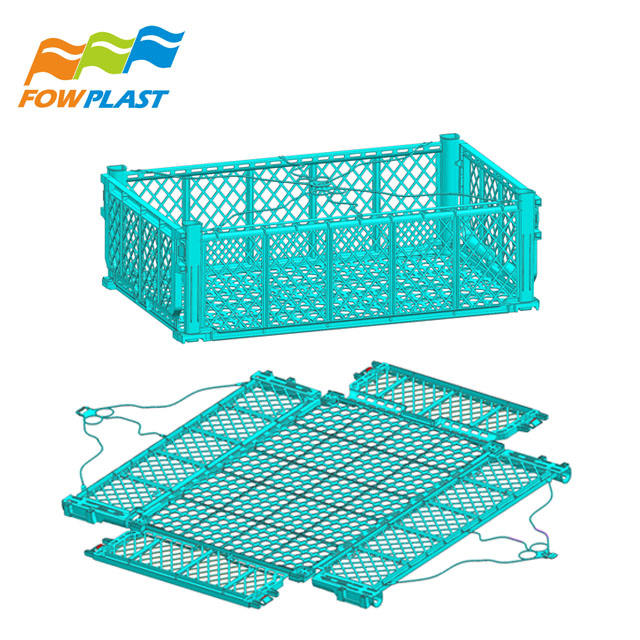 plastic foldable fruit crate