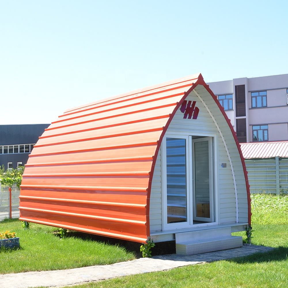 AH-AL002 Modular Design Portable Prefab Camp Pod For Living