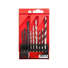 9Pcs Metric Combination Drill Bit Set  in Plastic Box