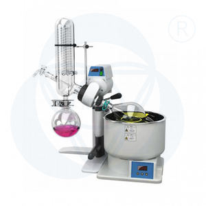 2L essential oil steam distillation equipment with automatic lifting for lab
