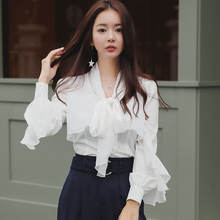 womens tops blouses 2018 Korean ladies shirts for women blouses