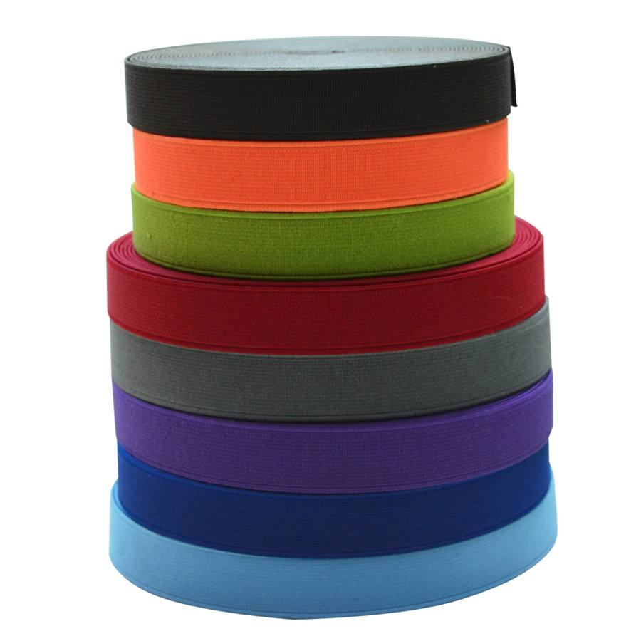 Factory customized polyester fabric elastic band for clothes wholesale
