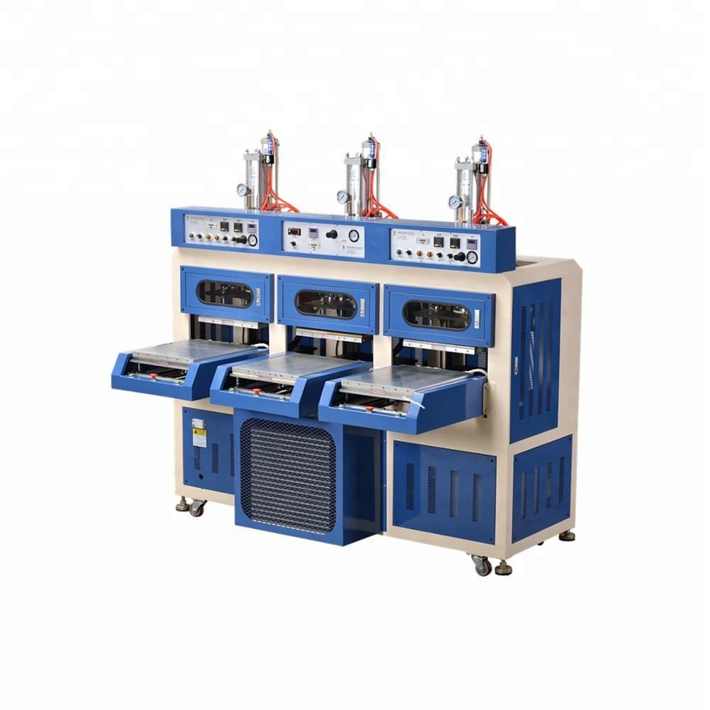 3 Working Stations Pneumatic Slip-way the middle Cold Press Machine