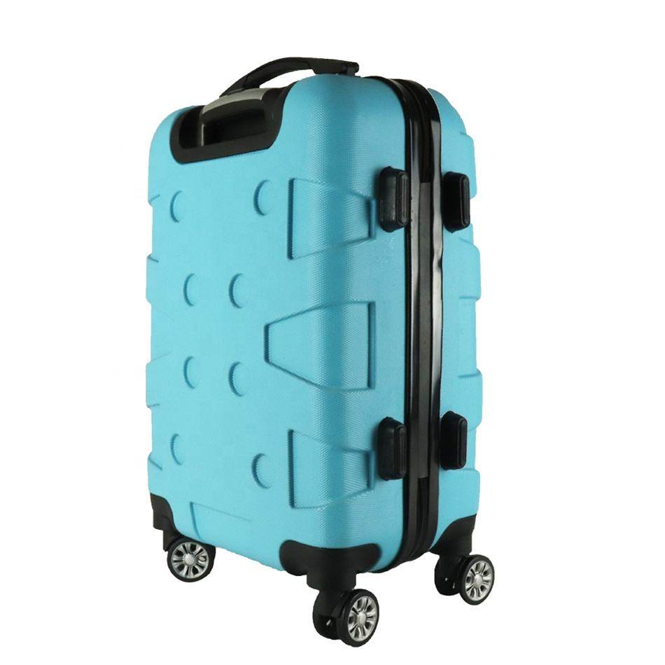 Aangepaste uv print koffer sets mode abs trolley bagage 20 24 hard case reizen bagage set