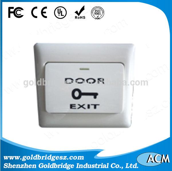 Китай alibaba Экономичный стиль горячий продавать no touch дверь контроля доступа кнопка выхода