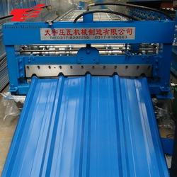 China Supplier Zinc Panel Trapezoidal Metal Roofing Roll Forming Machines For Sale
