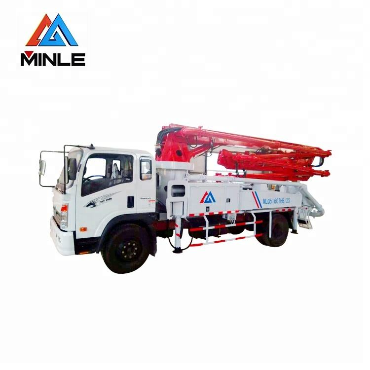 Hot product 90-140m3/h concrete pump truck/truck mounted concrete boom pump with high quality
