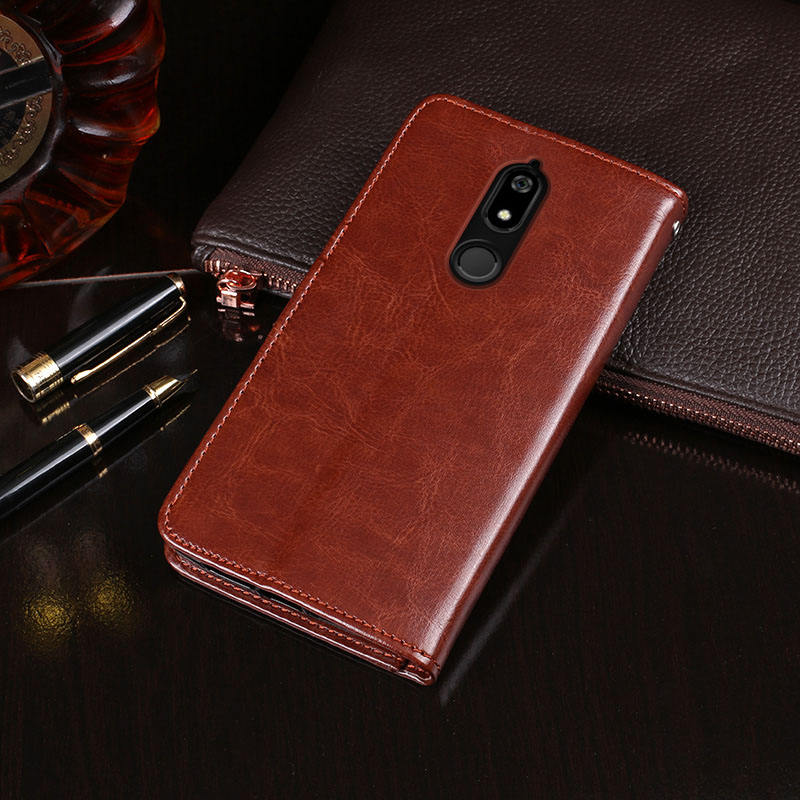 Classic phone leather cover for BQ Mobile BQ 5700L Space X Factory OEM High Quality Luxury Flip Wallet PU Leather Mobile Case