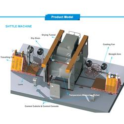 plastic rotational molding water tank making machine