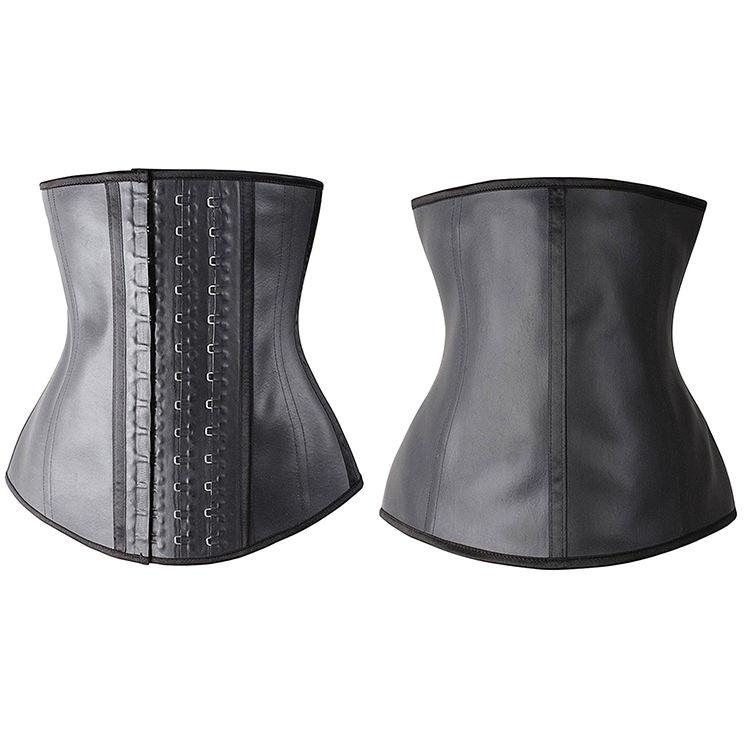 OEM feito sob encomenda preto tecido respirável 3 gancho colombiano trainer cintura látex cincher espartilho com 3 gancho