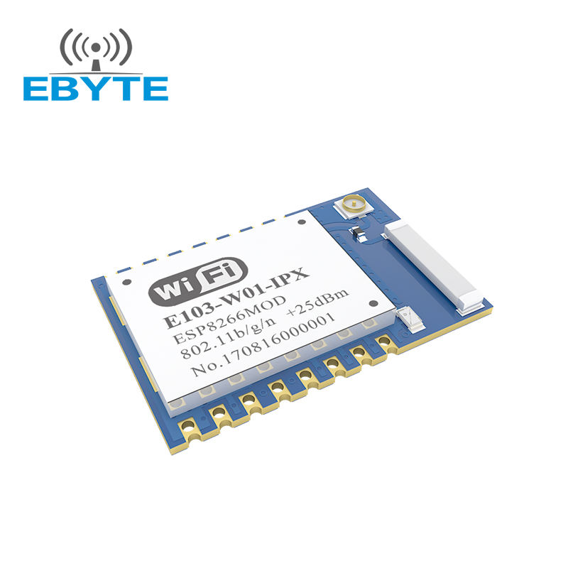 E103-W01 IoT SMD 2.4GHz wifi chip price esp8266 module