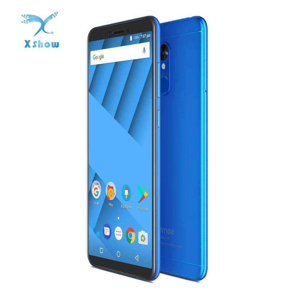 "Vernee M6 4GB 64GB Mobile Phone 5.7"" 18:9 Full Screen 16MP 8MP Octa Core 4G LTE 1440x720 pixels Android 7.0 Dual SIM Smartphones"