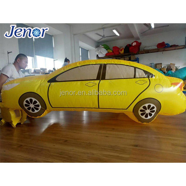 Air Toy Inflatable Yellow Car Model for Sale