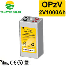 15~20 years working life opzv 2v 1000ah battery with Tubular plate