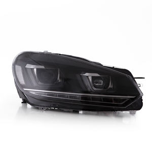 Vland-faros delanteros de coche para Golf mk6, luces LED para Golf 6, luz delantera con plug and play