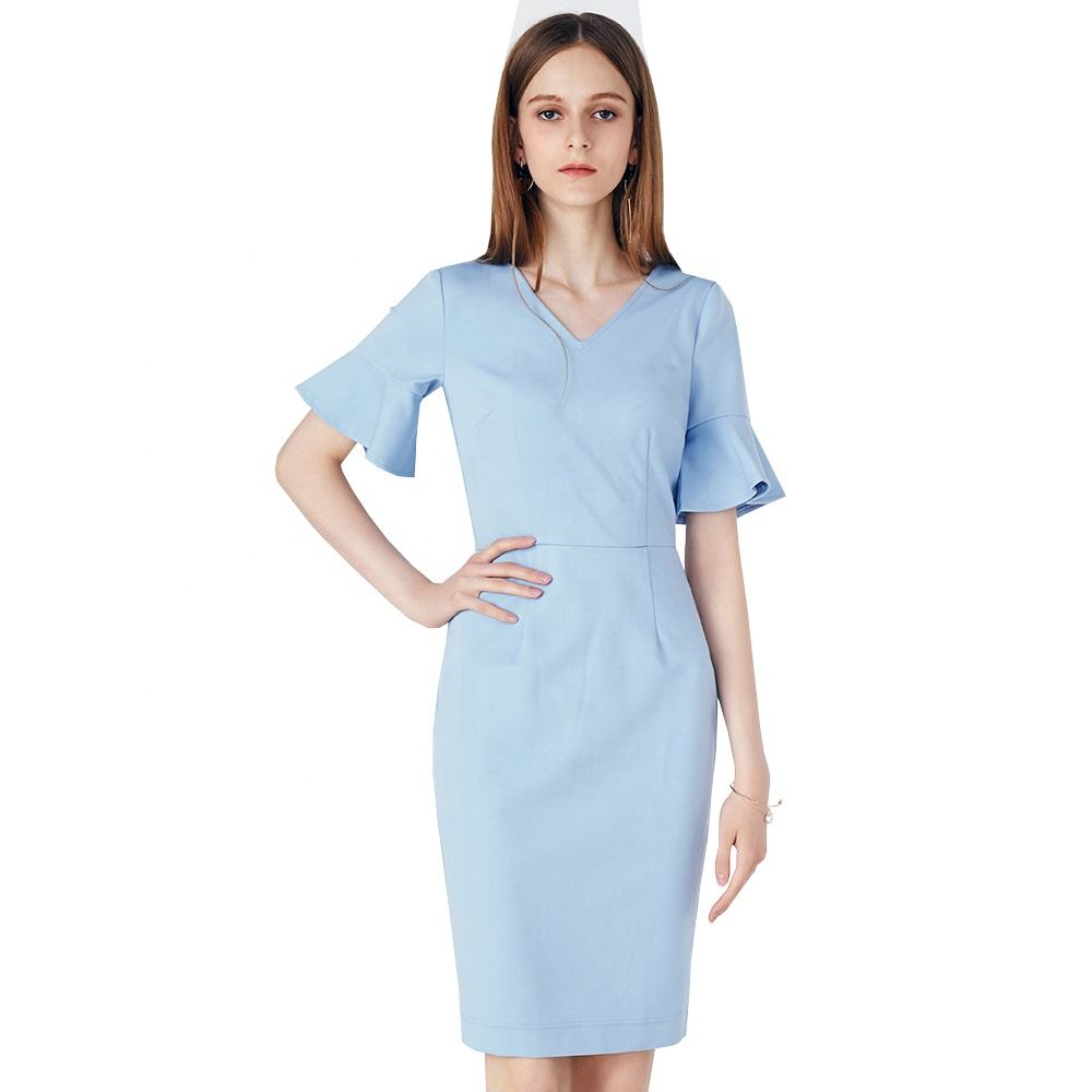 Summer women clothing garment apparel direct factory OEM manufacturing long maxi brand lady Dresses
