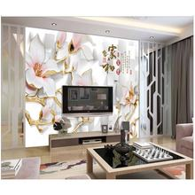 Indoor environmental protection material wall decoration murale 3d