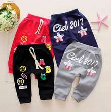 2019 New Style Cute Boy Sports Pants Comfortable Baby Trousers Style Girl And Boy Baby PP Pants