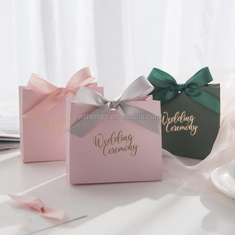 Lint Ontwerp Party Favor Tassen Indian Wedding Gift Bags