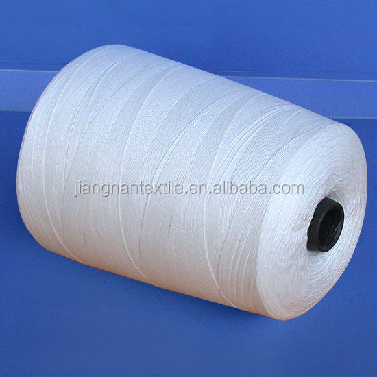 China Wholesale NE 24/2 100% Polyester Spun Yarn AA Grade Waxed For Knitting First Grade Superb Quality
