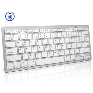 Voor Windows Os/Apple Mac/Android Systeem Mini Slim Wireless Bluetooth Keyboard