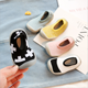 star new socks shoe for baby slipper socks with rubber sole solid color stars