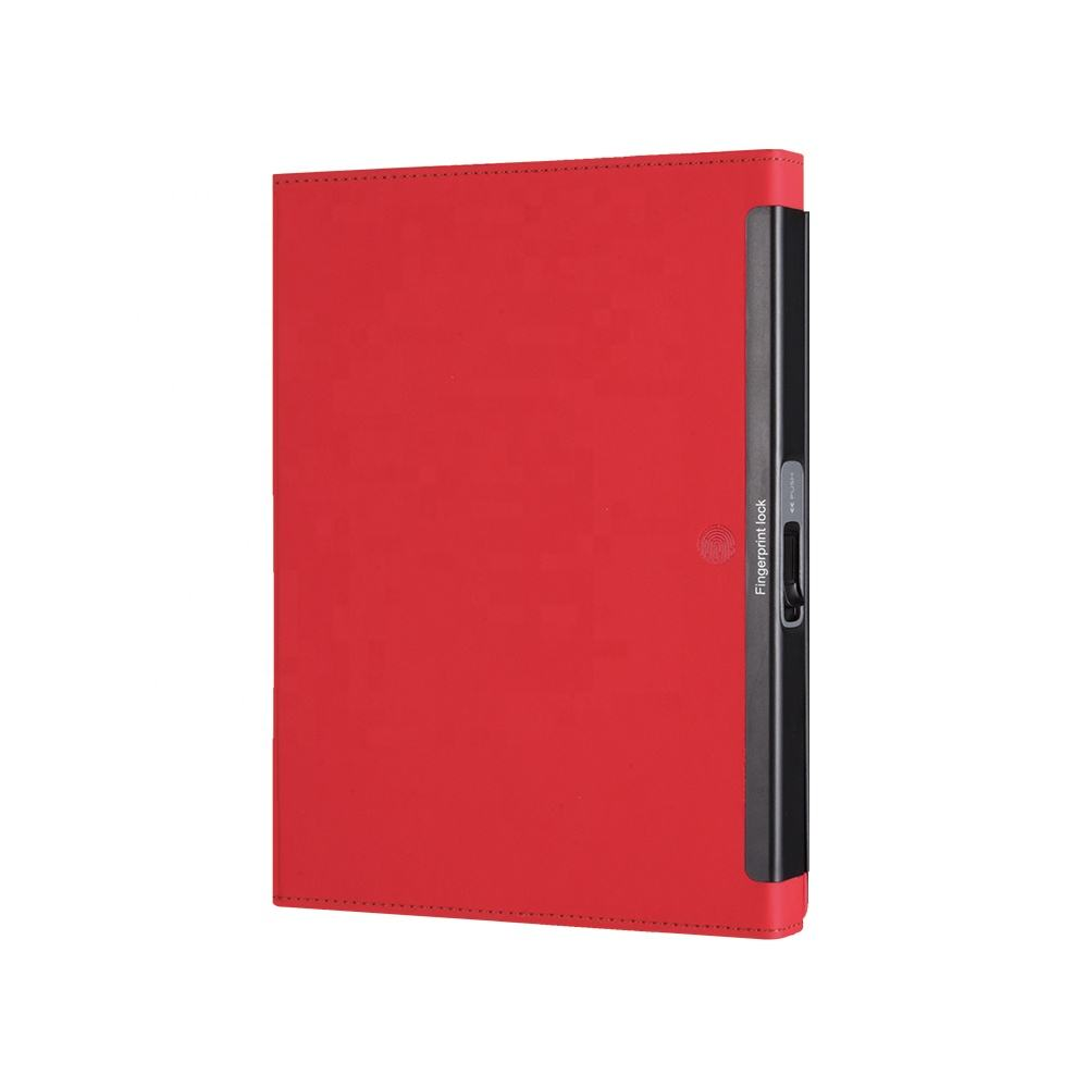 Comix High Tech 50 Sheets Multi-function A5 Fingerprint Protected fingerprint lock notebook