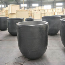 high quality silicon carbide metals melting pot for aluminium