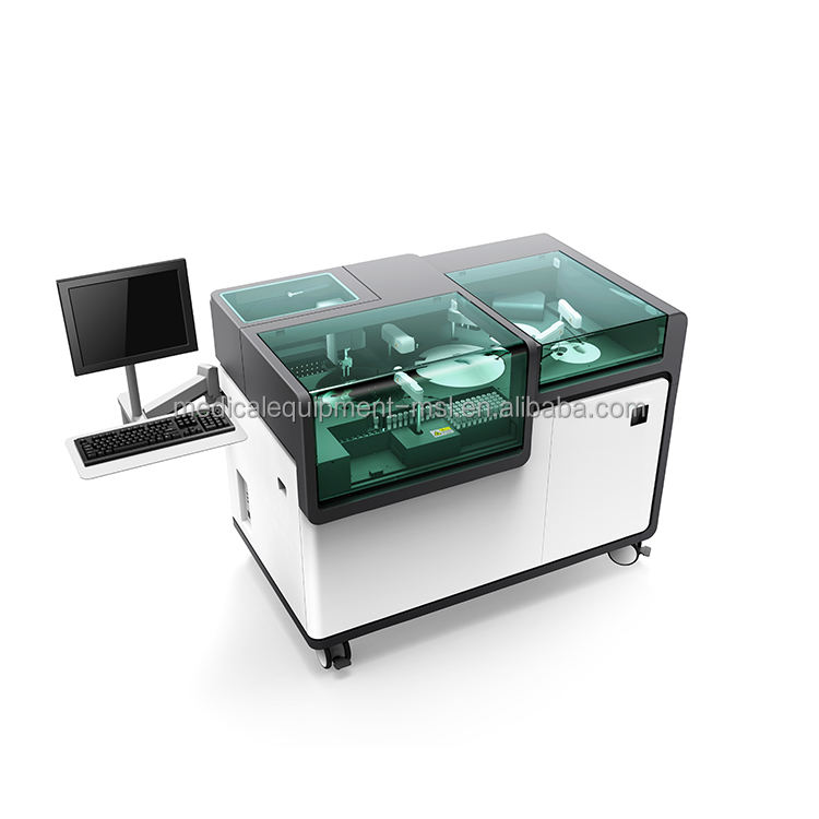 MSLCM05 fully automatic CLIA immuno analyzer tumor marker/cardiopulmonary machine for lab use