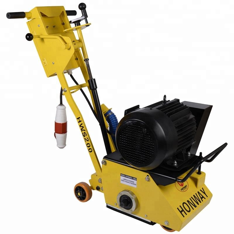 Factory direct supply self propelled electric honda engine asphalt road milling concrete scarifier machine for sale